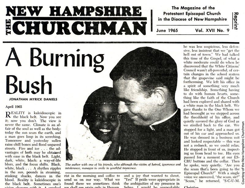 "Article By Daniels, ""Burning Bush"""