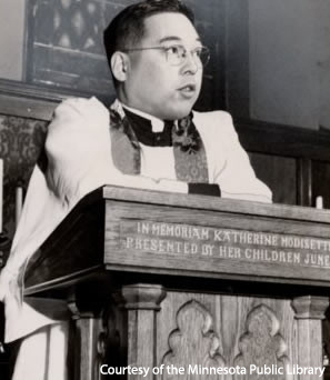 Speaking At St. Mark's, 1949