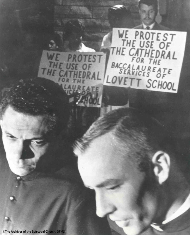 Hunter And Dreisbach Hold Vigil And Fast In Protest Of Lovett School