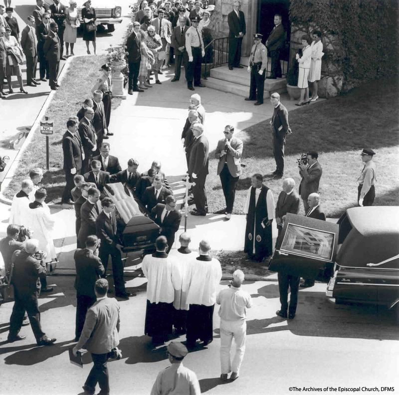 Pallbearers Carrying Jonathan Daniels' Casket