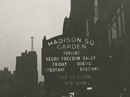 Marquee Of Madison Square Garden