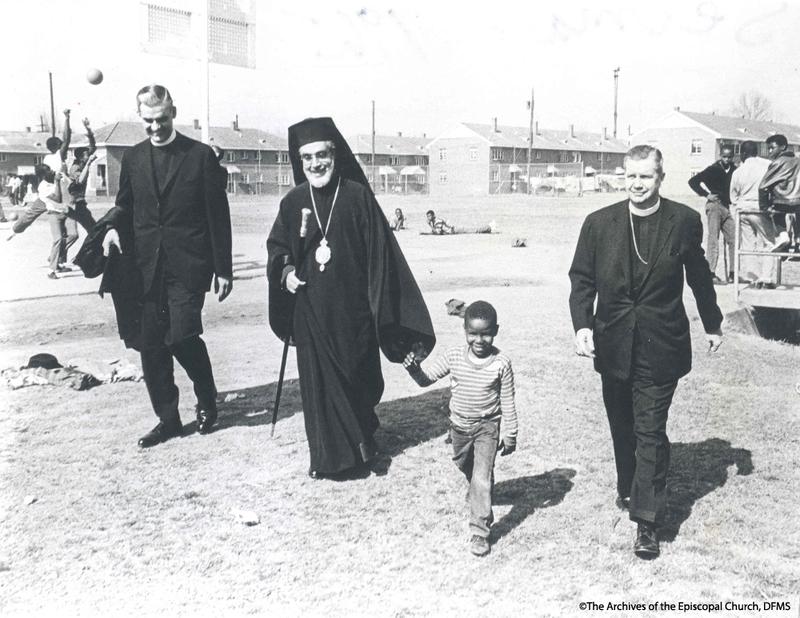 Bishop Hines And Archbishop Iakovos Touring Selma In 1965