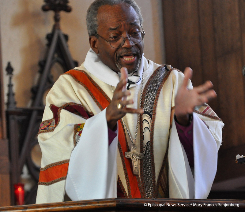 Bishop Curry Preaching
