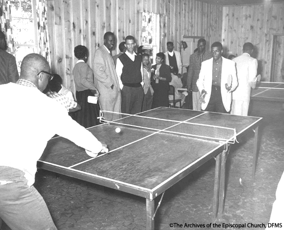 Table Tennis At Voorhees Student Center