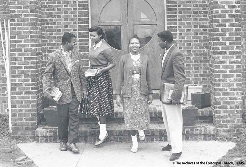 Okolona Students Outside The Library