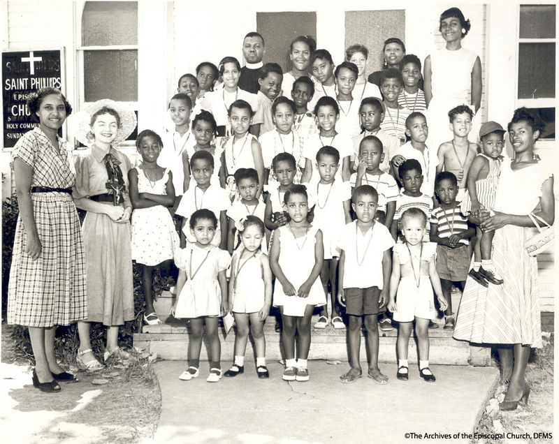 Bible School Class At St. Philip, Dallas 1950