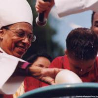 Bishop Harris Baptizing