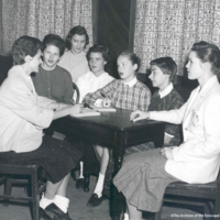 All White Study Group, St. Mary's Junior College, Raleigh 1957