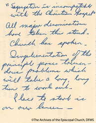Note On Segregation