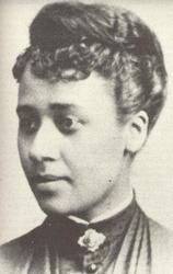 Anna Julia Haywood Cooper, c. 1880.