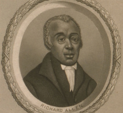 Richard Allen, Lithograph